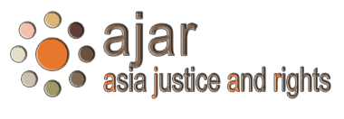 AJAR is a non-profit organization whose aim is to contribute to the strengthening of human rights and the alleviation of entrenched impunity in the Asia-Pacific region.